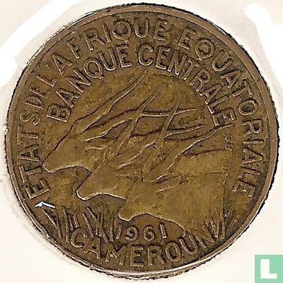 États de l´Afrique équatoriale - États d'Afrique équatoriale 5 francs 1961