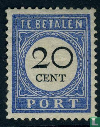 Netherlands [NLD] - Due stamp