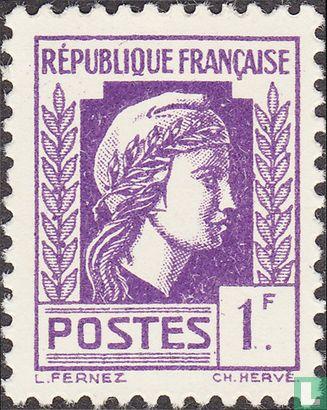 France [FRA] - Marianne (of Algiers)