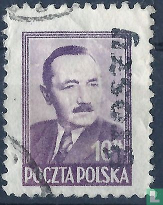Polen [POL] - President Boleslaw Bierut