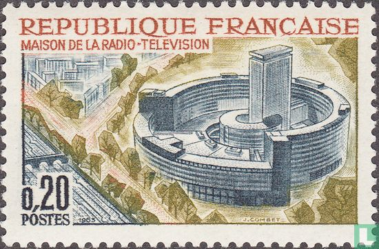 France [FRA] - Radio and television building Paris