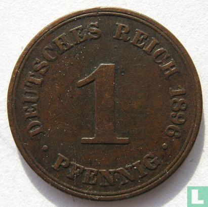 Duitsland - Duitse Rijk 1 pfennig 1896 (A)