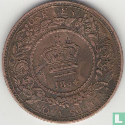 Nova Scotia 1 cent 1864 - Afbeelding 1