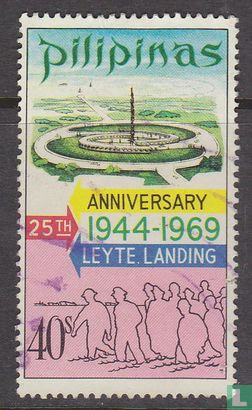 Philippines - 25th anniversary leyte landing