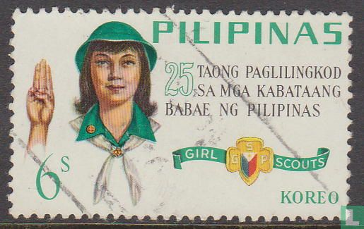 Philippines - 25 years girl scouts