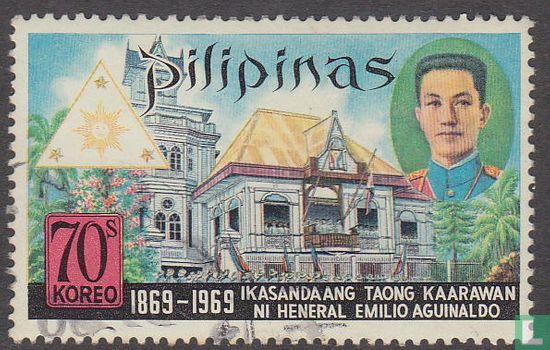 Filipijnen - 100ste geboortedag van Emilio Aguinaldo