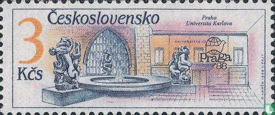 Tchécoslovaquie - Fontaines à Prague