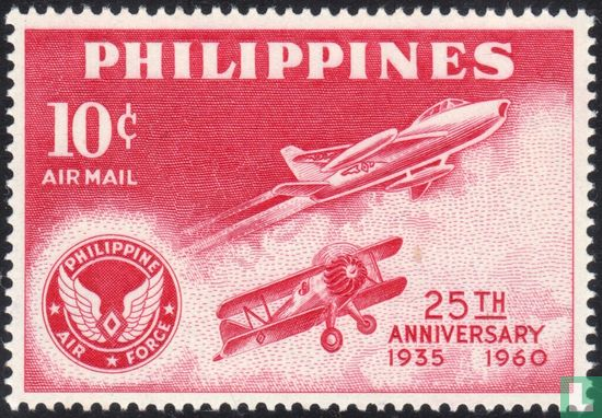 Philippines - 25th Anniversary Philippine air force
