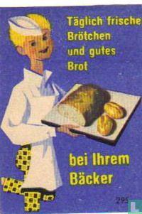 Täglich frische Brötchen und gutes Brot