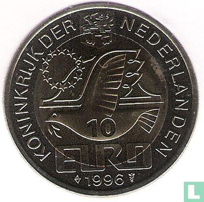 """Nederland 10 euro 1996 """"Constantijn Huygens""""  - Afbeelding 1"""