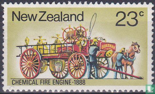 Nieuw-Zeeland - Historische brandweervoertuigen