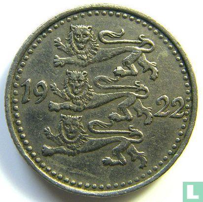 Estonie - Estonie 1 mark 1922