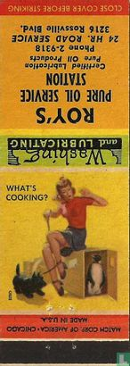 Pin up 40 ies What's cooking - Afbeelding 1