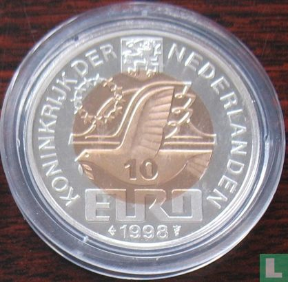 """Nederland 10 euro 1998 """"M.C. Escher"""" - Afbeelding 1"""