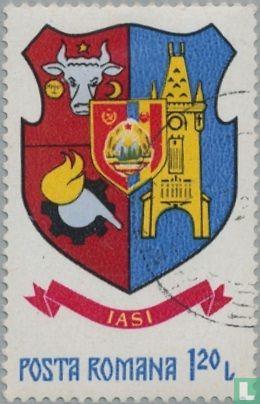 Romania [ROU] - City coat of arms