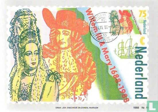 Netherlands [NLD] - William III and Mary II Stuart