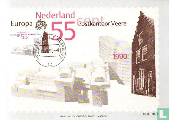 Netherlands [NLD] - Europa – Post offices