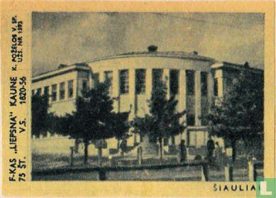 Stadsgezicht Siauliai