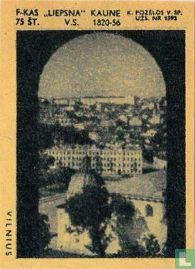 Stadsgezicht Vilnius