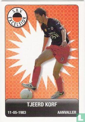 Eredivisie - S.B.V. Excelsior: Tjeerd Korf
