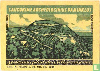 Seredziaus piliakalnis Vilkijos rajonas