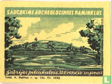 Satrijos piliakalnis Uzvencio rajonas