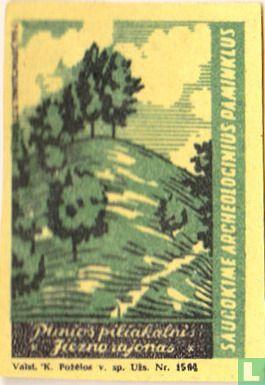 Punios piliakalnis Jiezno rajonas