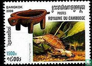 Cambodja - Schildpad en schildpad-vormige objecten