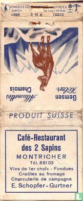 Café-restaurant des 2 Sapins
