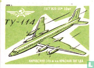 Vliegtuig TY-114