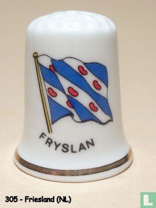 Fryslân (NL) - Provincievlag