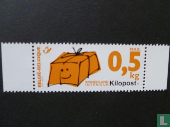 Kilopost pakketzegel 0.50 kg