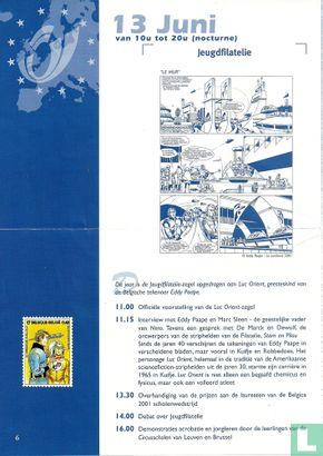 De Post [België] - Phila strips: Jeugdfilatelie - Luc Orient