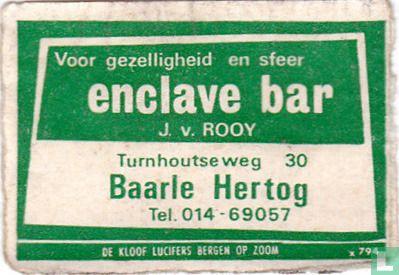Enclave bar - J. v. Rooy