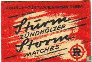 Sturm Zündhölzer Storm matches