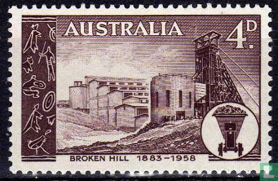 Australie [AUS] - 75 ans Silver Mines Broken Hill