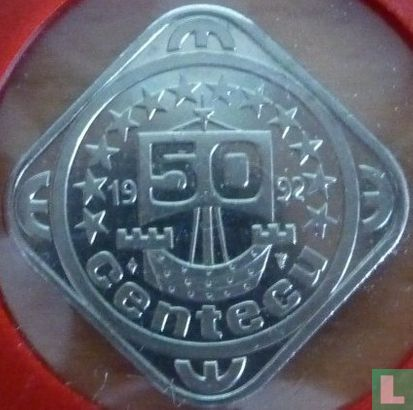 Nederland 50 centecu 1992 - Afbeelding 1