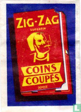Zig-zag Coins coupés