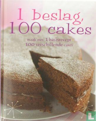 France, Christine - 1 beslag, 100 cakes