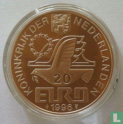 """Nederland 20 euro 1996 """"Constantijn Huygens"""" (zonder gehaltesymbool) - Afbeelding 1"""