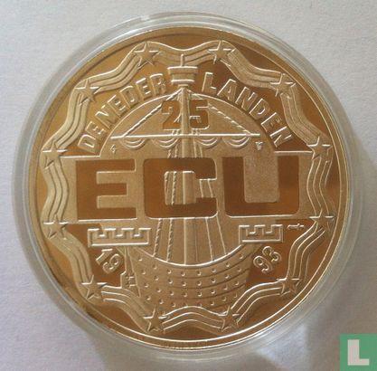 """Nederland 25 Ecu 1993 """"Verdrag van Maastricht"""" - Afbeelding 1"""