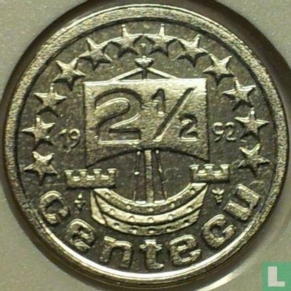 Nederland 2½ centecu 1992 - Afbeelding 1