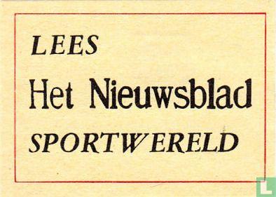 Lees Het Nieuwsblad Sportwereld