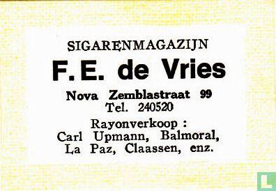 Sigarenmagazijn F.E. de Vries