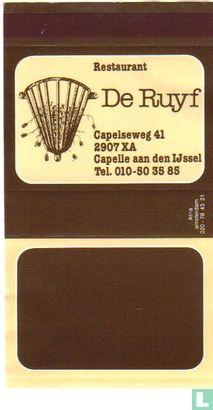 Restaurant De Ruyf