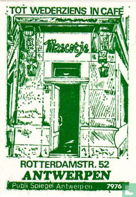 Café Mascotje - Image 1