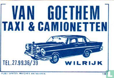 Van Goethem taxi & camionetten - Image 1