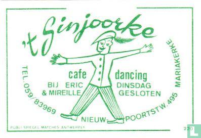 't Sinjoorke cafe - dancing - Image 1