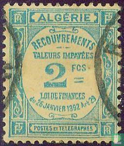 Algerije - Terugvorderingen - onbetaalde Waarden