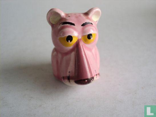 Keramiek Pink Panther vingerhoedje - Image 1